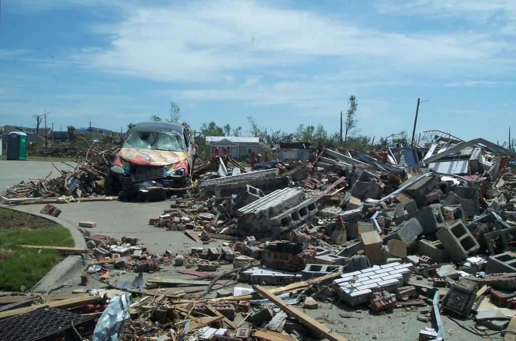 15th street, Tuscaloosa, Alabama, taken May 3, 2011