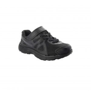 Nike Revolution Black Velcro School Shoes
