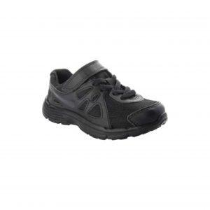 Nike Revolution Black Velcro School Shoes