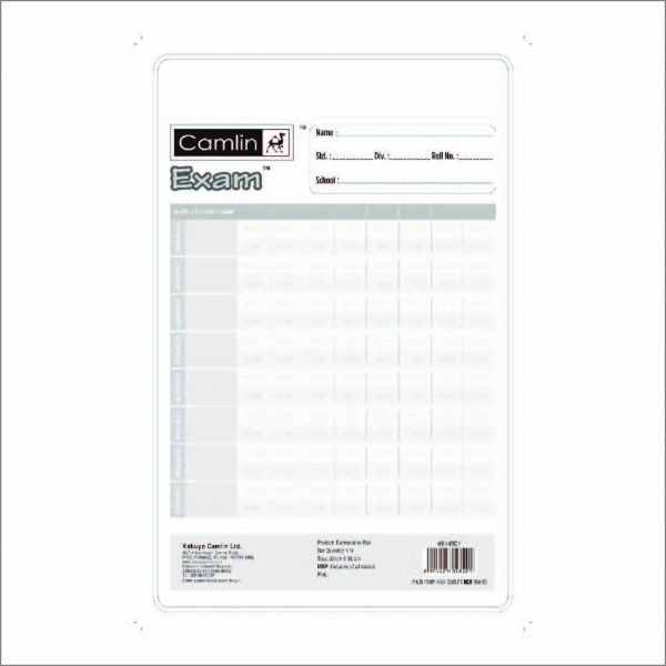 Camlin Kokuyo Exam Clip Board 1