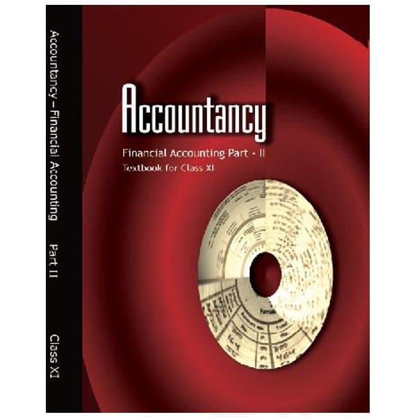 Accountancy Financial Accounting Part 2 Textbook for Class 11th NCERT Book Skool store
