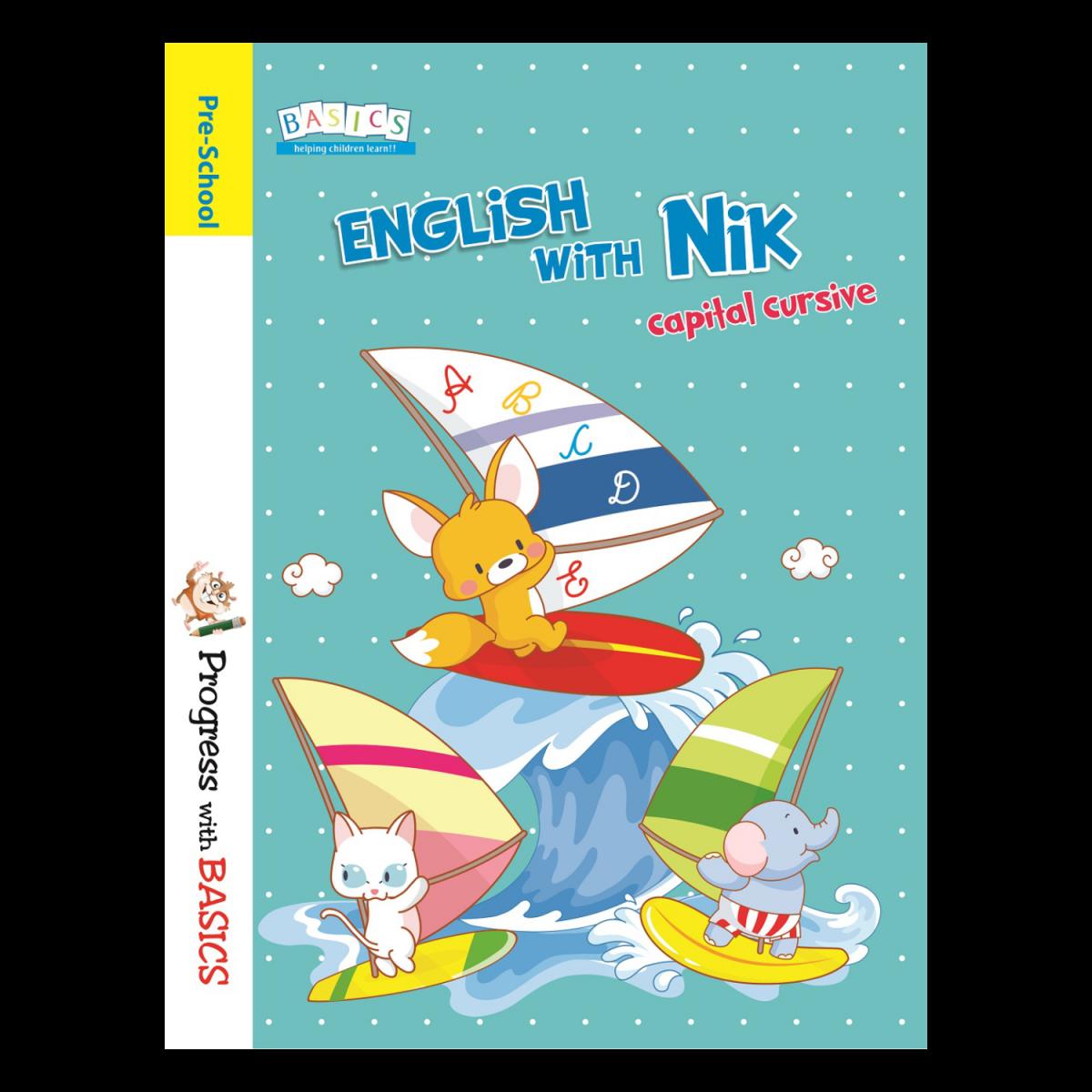 Basics English with Nik Cursive Writing
