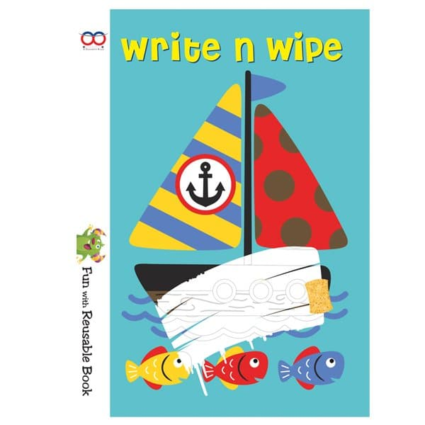 Best Write And Wipe Book - Reusable Book - Reusable NoteBook - Skool Store