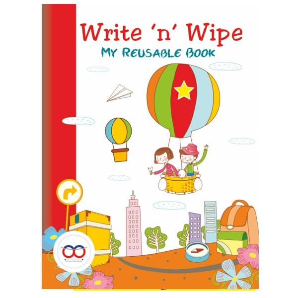 Buy Best Write And Wipe Book - Reusable Book - Reusable NoteBook - Skool Store