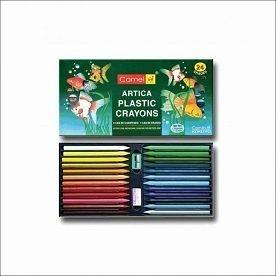 Camel Artica Plastic Crayons 24 Shades