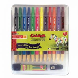 Camlin Kokuyo Color Pen Pencils, Multicolour (Pack of 12)
