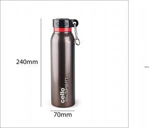 Cello Beatle Stainless Steel Sports Bottle, Brown 2