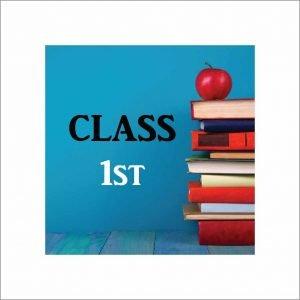 Infant Jesus Convent School Class 1 Book List