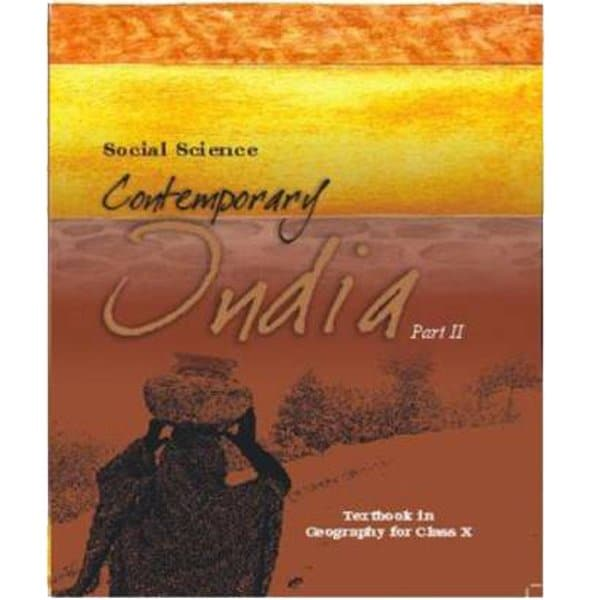 Contemporary India Part 2 - Geography for Class 10th - NCERT Book skoolstore