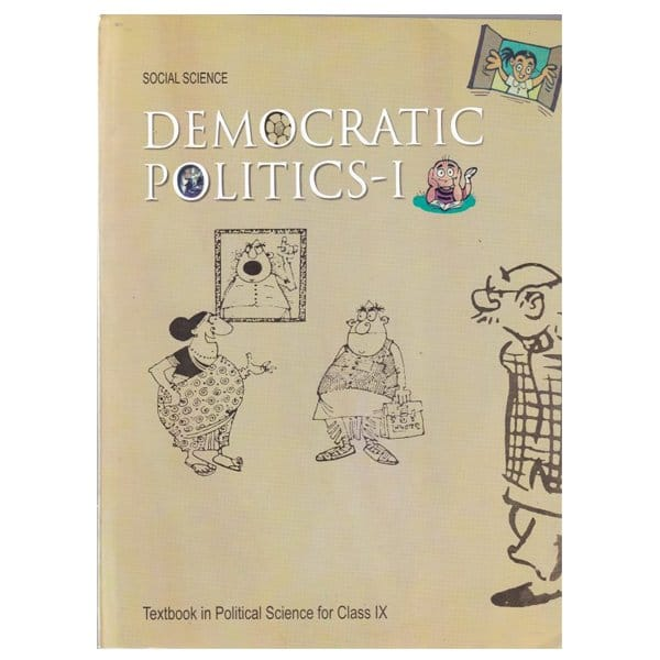 Democratic Politics Part 1 Textbook in Social Science for Class 9th NCERT Book Skool Store