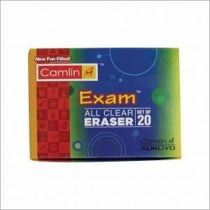 Camlin Kokuyo All Clear Regular Eraser(Pack of 20)