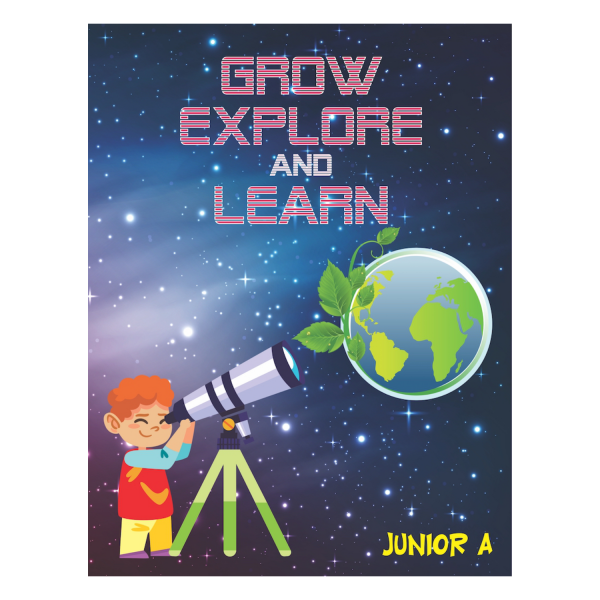 Grow Explore And Learn EVS Book for Kids - Rising Kids
