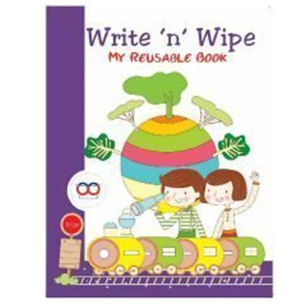 Reusable Book - Write And Wipe Book - Reusable NoteBook - Skool Store