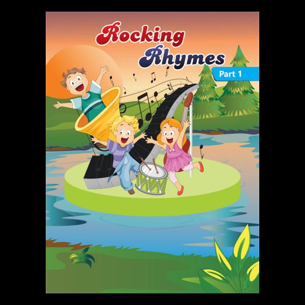 Rising kids - English Rhymes Book for kids Rocking Rhymes Book Part 1