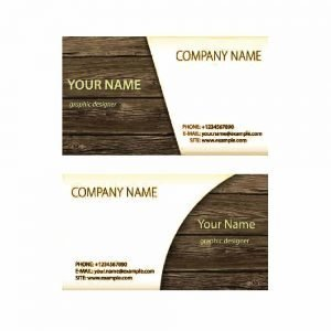 Wooden Business Card (Pack of 100)
