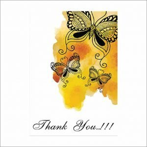Thank You Cards (Pack of 10)