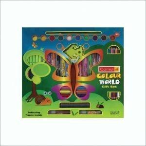 Camlin Kokuyo Colour World Gift Set (Multicolor)