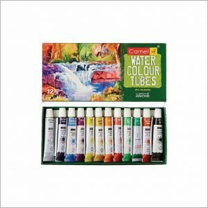 Camlin Student Water Color Tube - 5ml each, 12 Shades