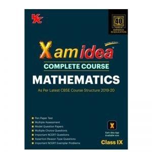 Xam Idea Complete Course Mathematics Class 9th (2019-20)