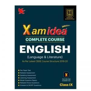 Xam Idea English Class 9th Complete Course 2019-20