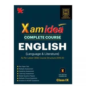 Xam Idea English Class 9th Complete Course 2019-20