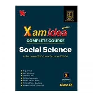 Xam Idea Complete Course Social Science Class 9th 2019-20