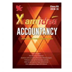 Xam Idea Accountancy Class 12th (2019-20)