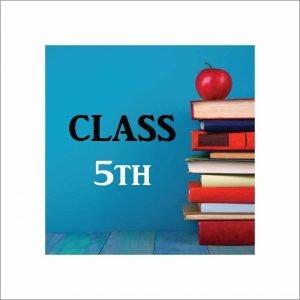 Infant Jesus Convent School Class 5 Books