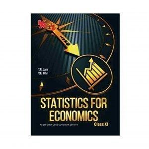 VK Statistics for Economics Class 11 by T.R Jain
