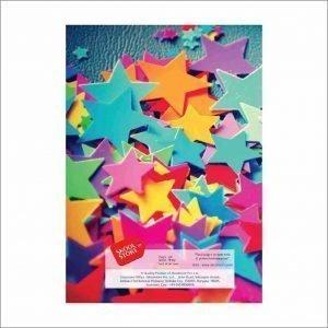 A4 Coloured Scrap Book skool store1