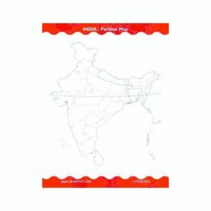 Customised Reusable India Political Map Practice Book1