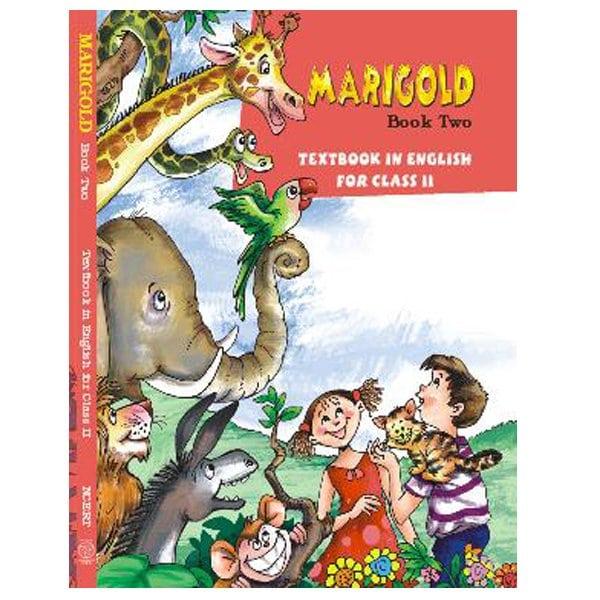 Marigold Class 2nd English Book (NCERT Book) Skool Store