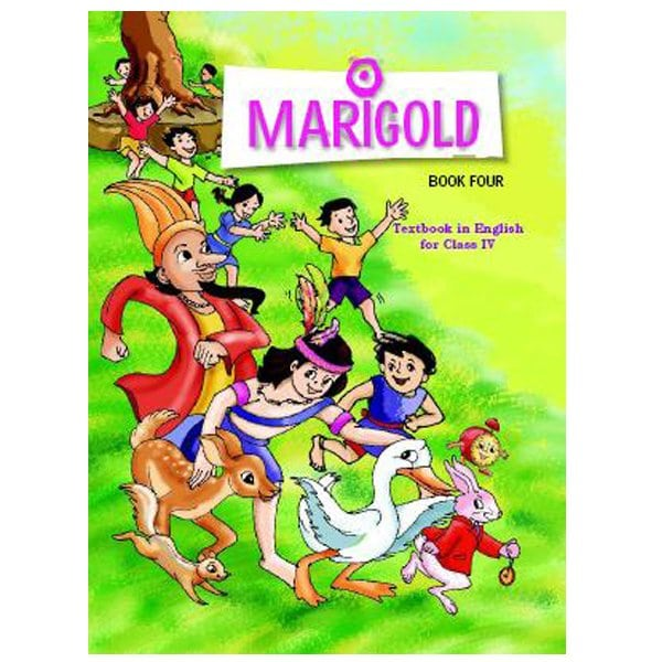 Marigold Class 4th English Book (NCERT Book) Skool Store