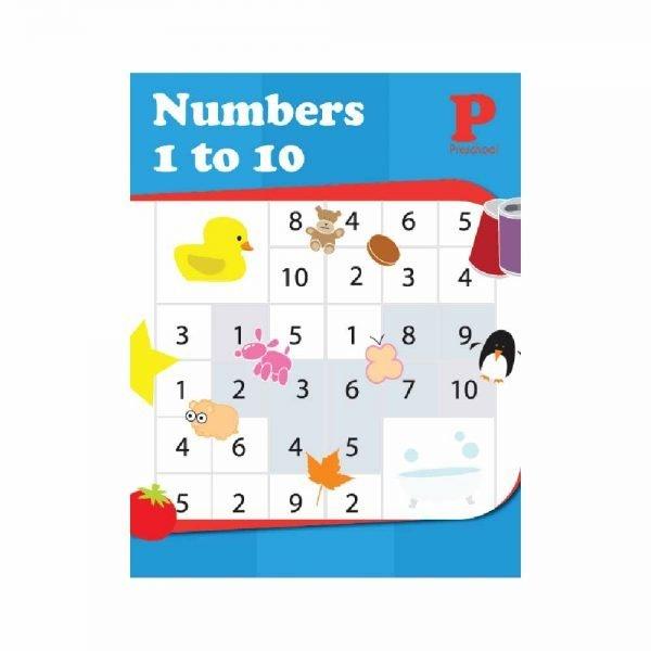 Customised Workbook Numbers 1 to 10