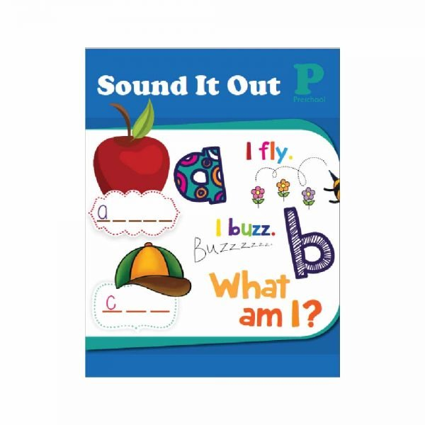 Customised Workbook Sound It Out for Pre Nursery