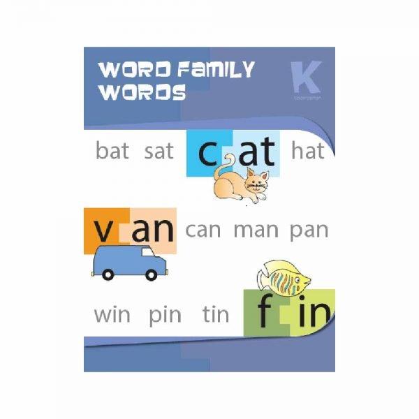 Customised Word Family Workbook