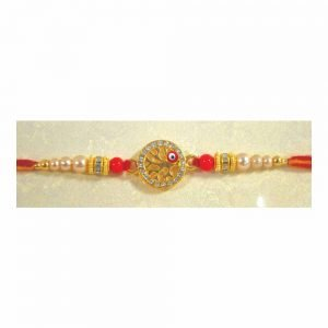Fancy Americal Diamond Rakhi Set of 6 for your Brother and Cousins