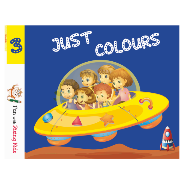 Just Color Drawing Book For Kids Class 3 – Rising Kids