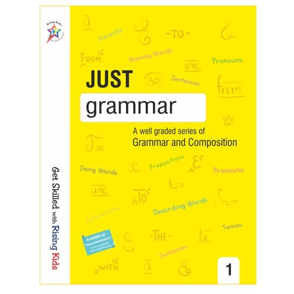 Just Grammar Book Class 1st - Rising kids -skool store