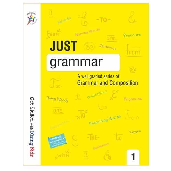 Just Grammar Book Class 1st - Rising kids -skool store