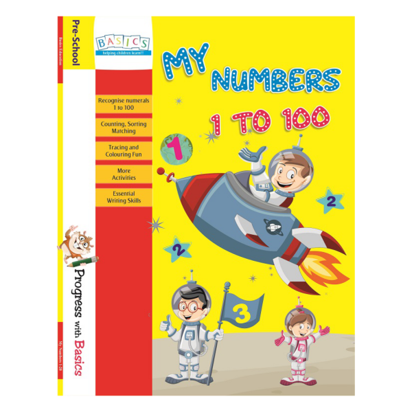 My Numbers 1 to 100 - Basics