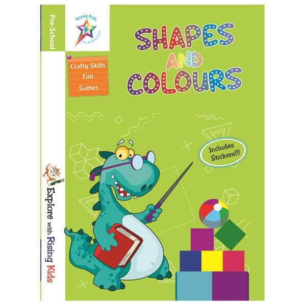 Shapes and Colours Book for Kids- Rising Kids - Skool store