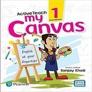 ActiveTeach My Canvas Book Class 1 Pearson CBSE Book English