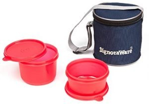 Signoraware Small Lunch Box With Bag