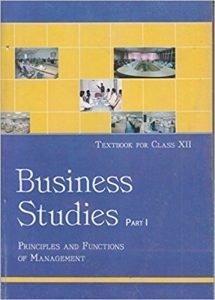 Business Studies Class 12th Part - 1 NCERT