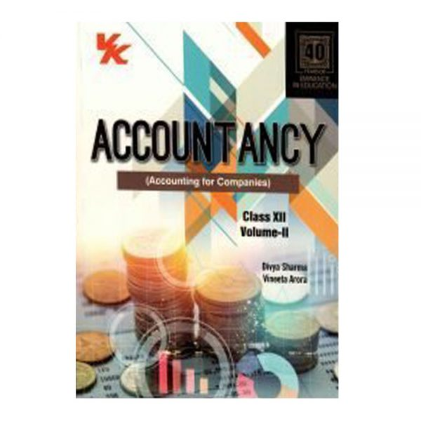 Accountancy Class 12th Volume II VK Publications