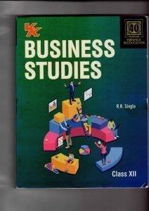 Business Studies Class 12th R.K Singla VK Publication