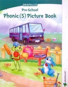 Pre School phonic(5) Picture Book Grafalco
