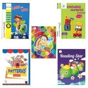 St Mary's School Mohali pre Nursery Bookset