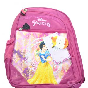 Disney Princess School Bag For Girls pink